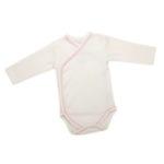 body bebé 1 mes rosa